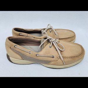 Sperry Top Sider Beige Loafer Sz 10